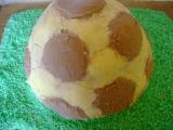 Dort fotbalový míč recept