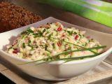 Hermelínový salát s ředkvičkami recept