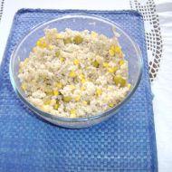 Rýžový salát s tuňákem a olivami recept