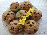 Arašídovo-čokoládové muffiny bez lepku, mléka a vajec recept ...
