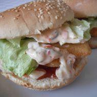 Domácí rybí hamburger recept