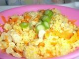 Těstovinová rýže s mrkví a masem pro nejmenší recept ...