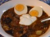 Houbovo  bramborový guláš recept