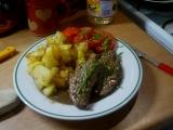 Kančí maso s bramborem recept