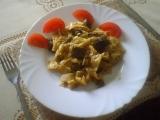 Těstoviny s kuřecími játry recept