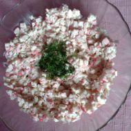 Krabí salát s koprem recept
