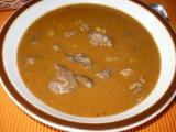 Guláš z kuřecích drůbků recept