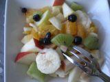 Barevný ovocný salát recept