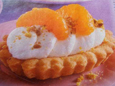Tartaletky s mandarinkami