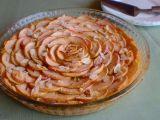 Jablečný koláč z mandlového těsta recept