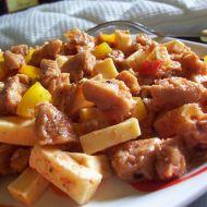 Pikantní salát ze sóji recept