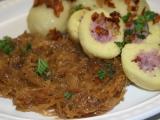 Karamelizované kysané zelí podle Oldy recept