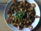 Bramborovo-fazolový guláš recept