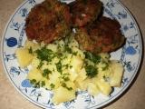 Brokolicové karbanátky se salámem a sýrem recept