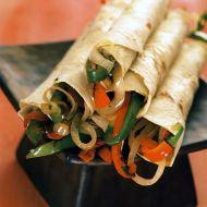 Fajitas se zeleninou recept