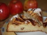 Kynutý jablkový koláč recept