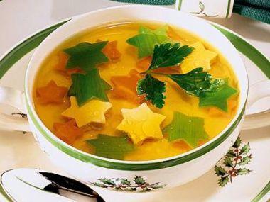 Celerová polévka se špekovými knedlíčky