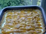 Meruňkový koláč s karamelem recept