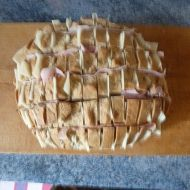 Zapečený plněný chléb recept