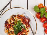 Bezlepkové noky s tomatovou omáčkou recept