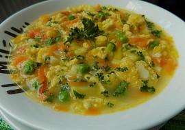 Zeleninová polévka s kapáním recept