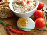Pomazánka z vepřovky s vejcem recept