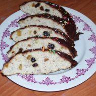 Bílkový chlebíček s rozinkami recept