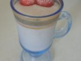 Jahodovo-banánový koktejl recept