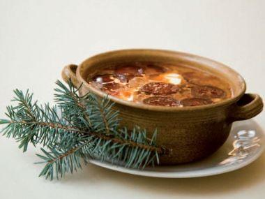 Recepty Slovenská vánoční zelňačka
