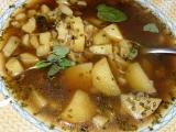 Houbová bramboračka recept