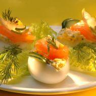 Plněná vejce na babiččin způsob recept