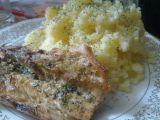 Makrelka pečená s brambůrkem vařeným recept