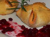 Bramborové šátečky s vepřovou paštikou recept