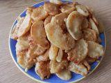 Jablečné lupínky v těstíčku recept
