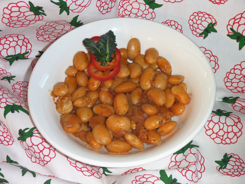 Gravče na tavče (balkánske zapečené fazole) recept