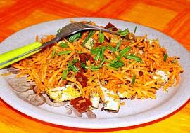 Mrkvový salát s tofu recept
