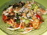 Salát s rajčatovou zálivkou recept