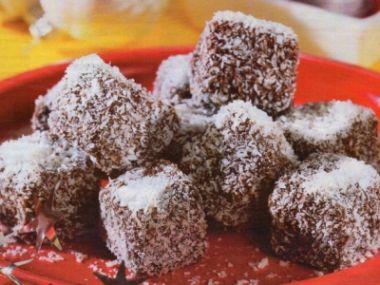 Kakaoví ježci s kokosem