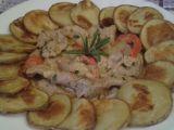 Vepřové nudličky s bramborovými dukátky recept