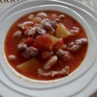 Fazolová polévka s kuřecím masem recept