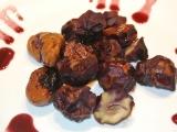 Kaštany v červeném víně recept