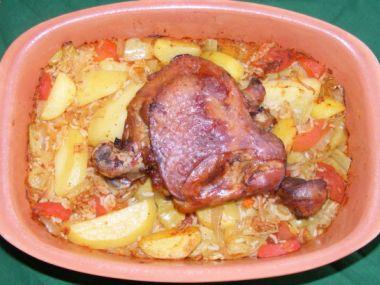 Kachna po srbsku