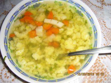 Zavářka do polévky  kapání