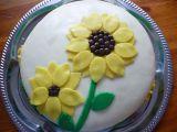 Dort slunečnice k narozeninám recept