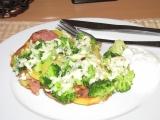 Zapečená brokolice s nivou recept