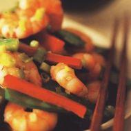 Krevety s paprikami recept