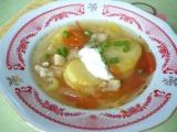Vrstvená rybí polévka recept