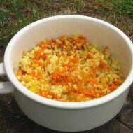 Kuskus s mrkví a kukuřicí recept