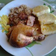 Kuře plněné kysaným zelím recept