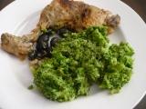 Kuře na víně a olivách recept